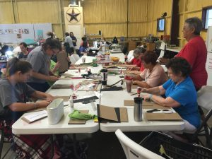 Heart of Texas Studio Class, taught by Pam Sivage