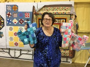 Those quilting boards get good use!