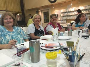 Paint class with Jennifer Gongora of Karma's Journey
